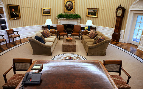 Obama redecorates the Oval Office CosmicConservative Rational