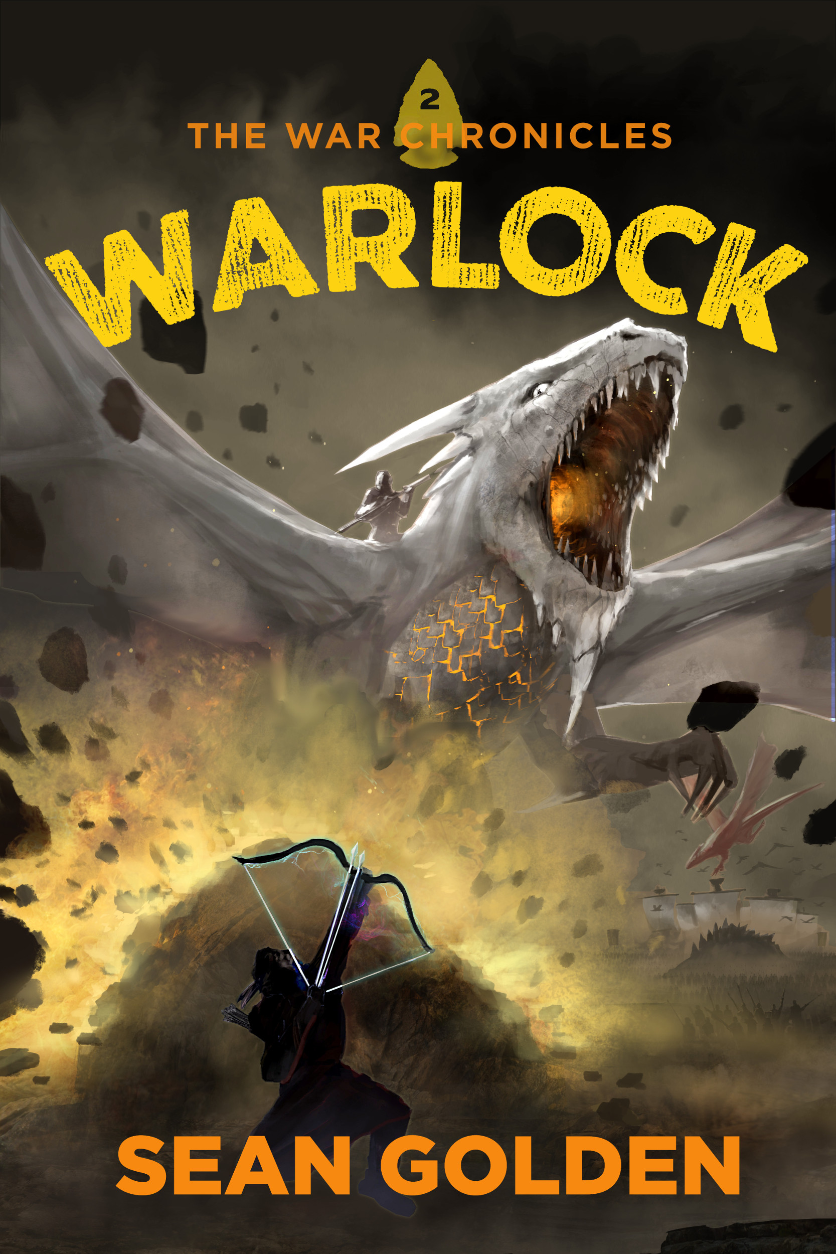 Warlock Final Cover for Kindle